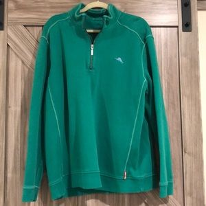 Tommy Bahama Green Pullover size XL